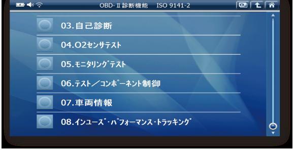 OBD-Ⅱ診断(J-OBDⅡ対応)